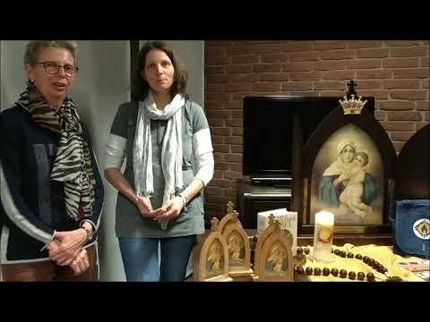"""Adventsaktion """"Herbergsuche"""" mit der Pilgernden Gottesmutter"""