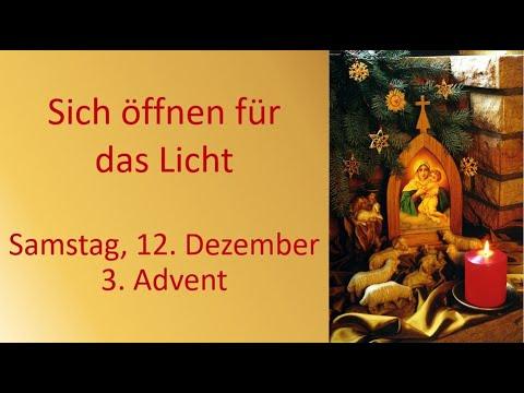 3. Advent Besinnungzeit Online Blitzlichter