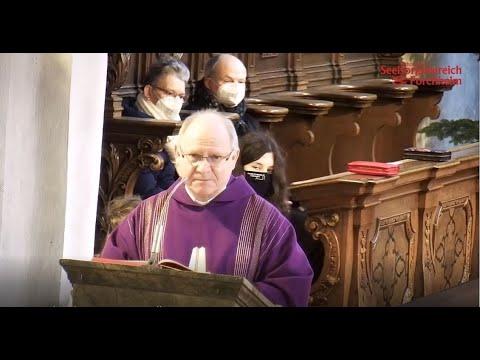 Pilgerheiligtum im Gottesdienst vorstellen