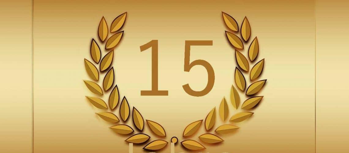 15 jubi